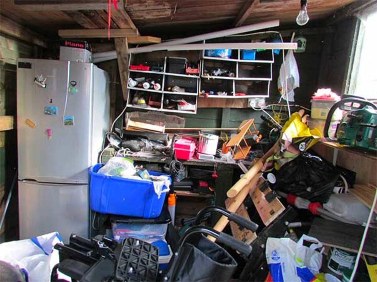 Rotete garasje