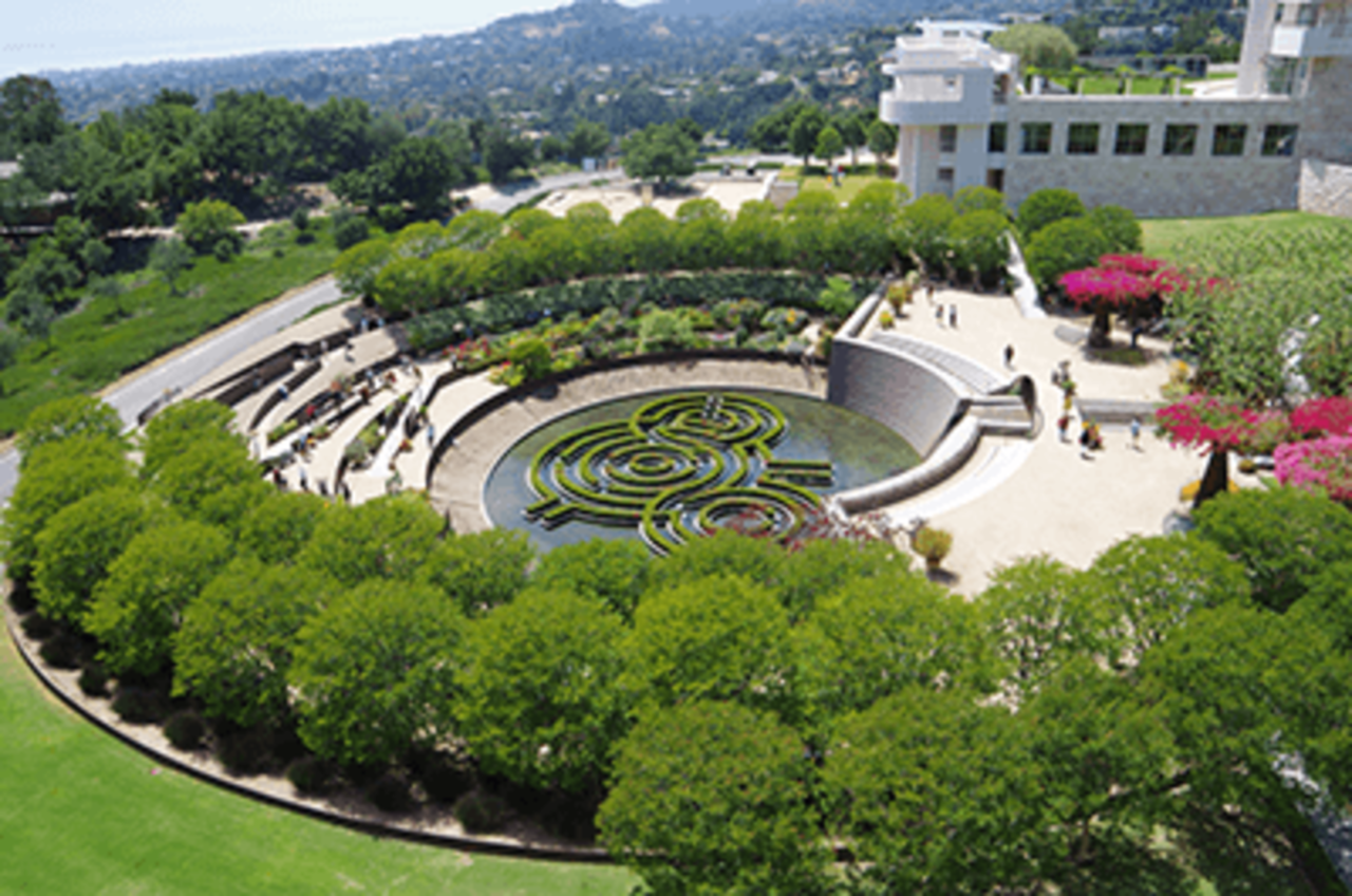The Getty Center in Los Angeles, California
