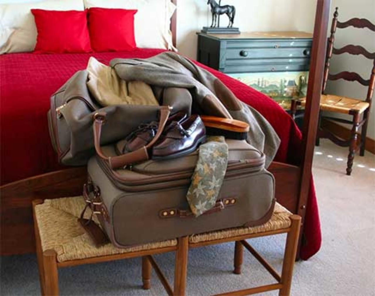 Pakke effektivt til ferien