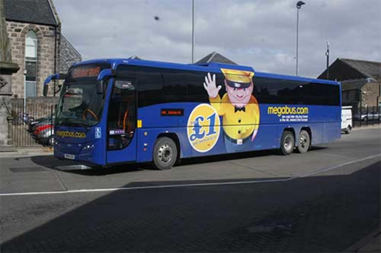 Megabus Europa billig