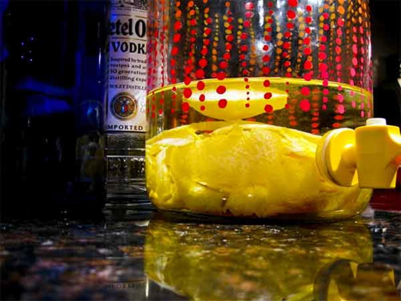 Eple infusert vodka